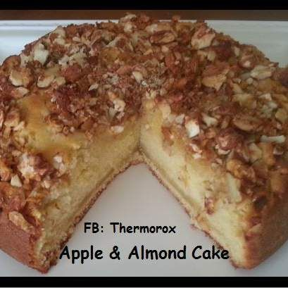 Recipe Apple and Almond Cake by Thermorox Sharon - Recipe of category Baking - sweet