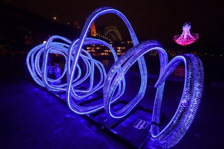 Vivid Sydney by Tim Keir, Squiggles  http://www.purplelux.com/vivid-sydney/