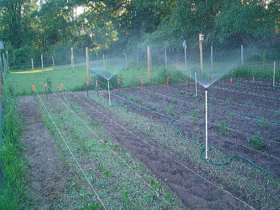 Home Made Sprinkler Lawn and Garden Sprinkler by Celarobfarm