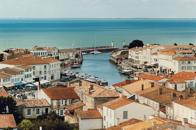 Saint-Martin-de-Ré on the Ile de Ré, France | Read our full travel story on the Ile de Ré at cntraveller.com