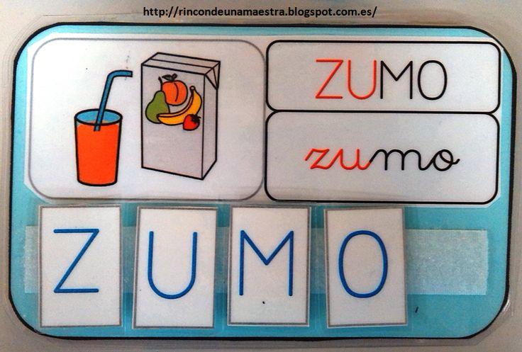 fantásticas tarjetas con las que trabajar en nuestras clases y salones de forma manipulativa las reglas de ortografía