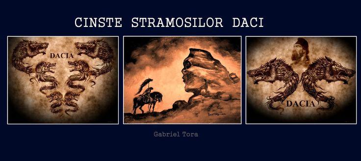 illustration gabriel tora dacians daci wolf dracones steagul dacic daoi sfinxul bucegi