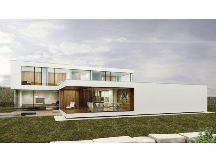 390 besten energiesparh user bilder auf pinterest balkon for Einfamilienhaus modern flachdach