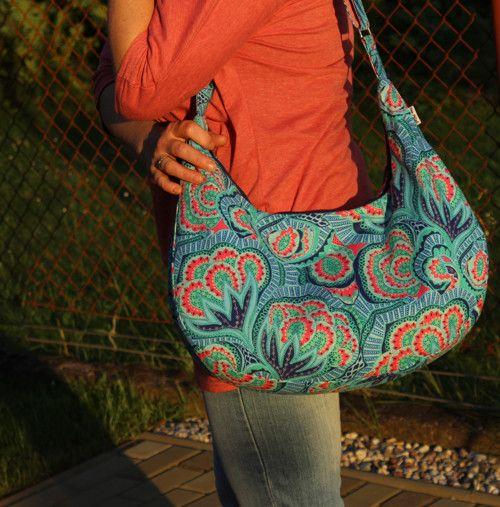 Nebojácně modrá 2 - letní kabelka