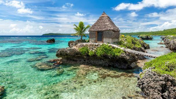 tribal accommodation Mare New Caledonia