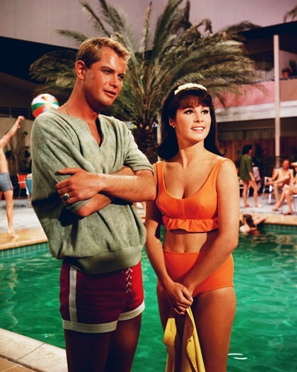 Sixties | Troy Donahue and Stephanie Powers in Palm Springs Weekend, 1963