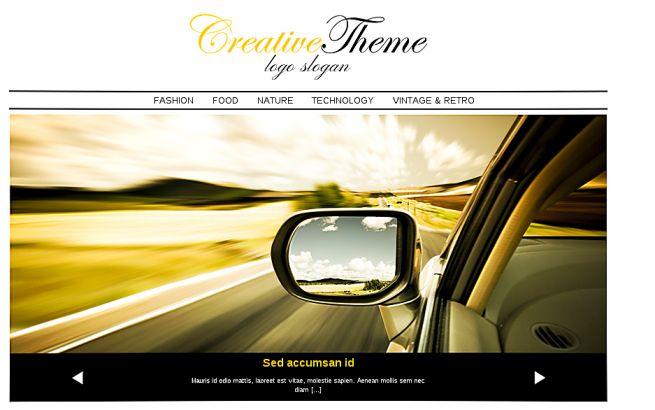 WordPress Themes Themes4all Creative Theme