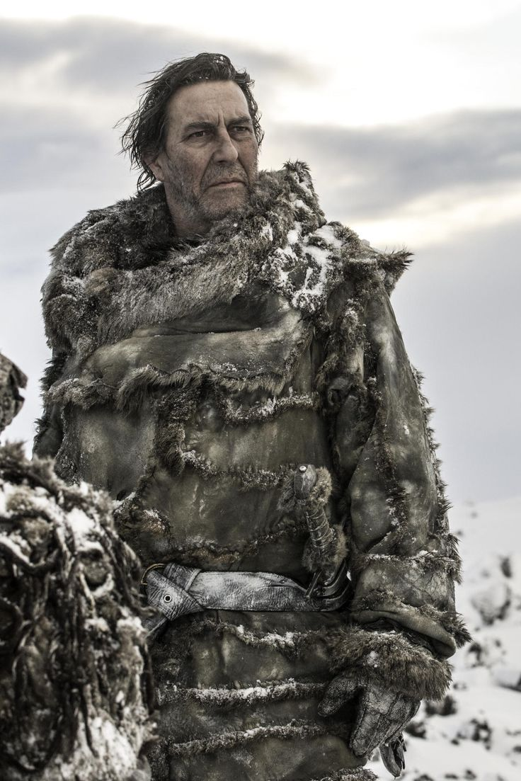 Game of Thrones - Season 3 - Mance Rayder / The King Beyond the Wall