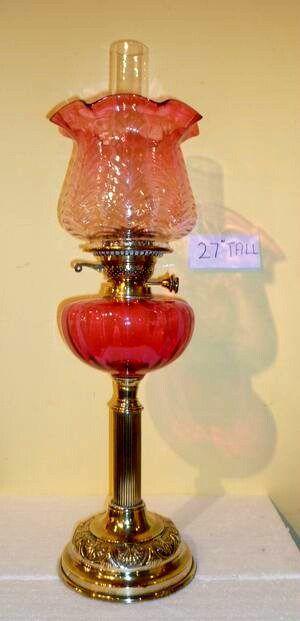 184 Best Victorian Oil Lamps Images On Pinterest