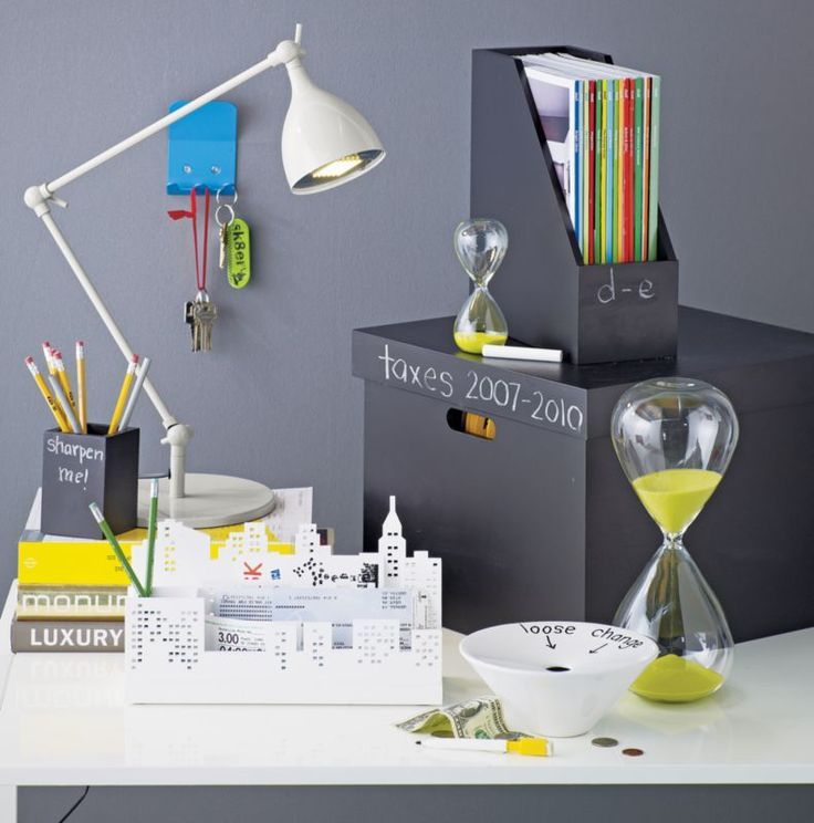 chalkboard office accessories in new accessories | CB2