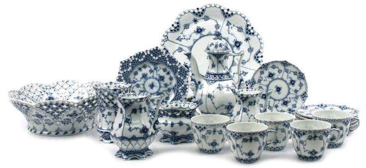 Vintage Royal Copenhaggen China