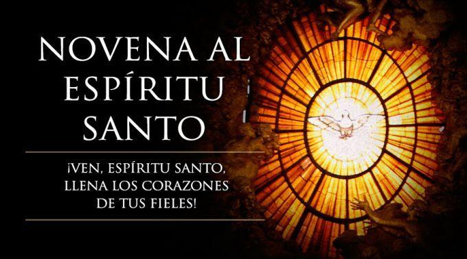 MI RINCON ESPIRITUAL: Rumbo a Pentecostés: Hoy comienza la Novena al Esp...