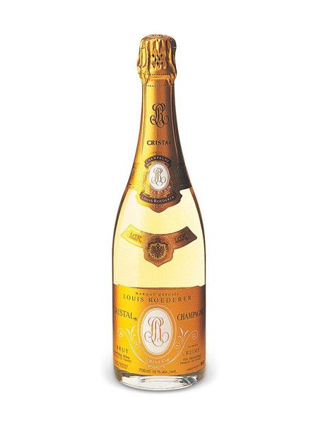 Louis Roederer's Cristal is one of the world's most famous Champagnes, adored by celebrities and civilians alike. Every vintage Robert Parker has reviewed this bubbly it has received a score of 93 or more. Most recently, the 2002 vintage scored 96+ points!