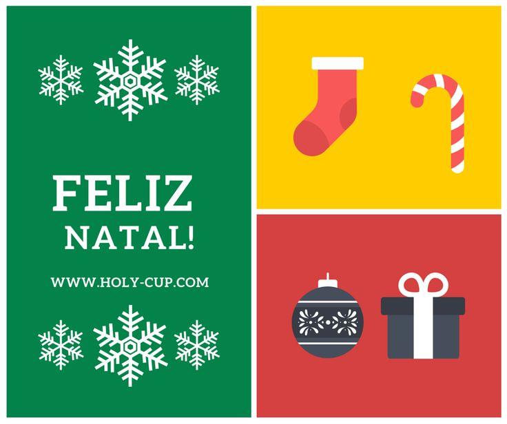 Um Holy Christmas para todos cheio de amor e felicidade é o que desejamos para toda a nossa Holy Family.   www.holy-cup.com