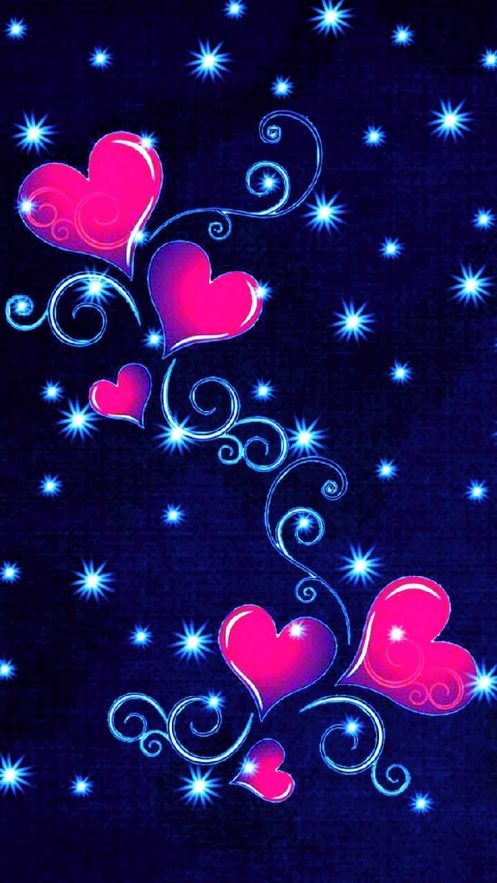 Hearts Wallpaper Valentine S Day S Izobrazheniyami Rozovye Oboi