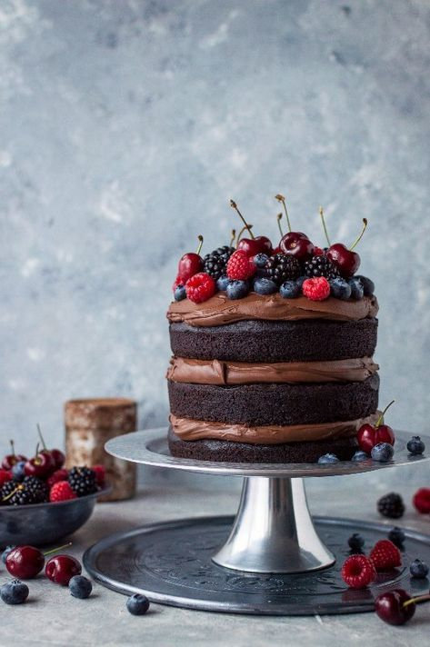 30 Beautiful Vegan Birthday Cake Recipes For Super Celebrations – Eluxe Magazine…  – Moms Nori Party – 62 BDay