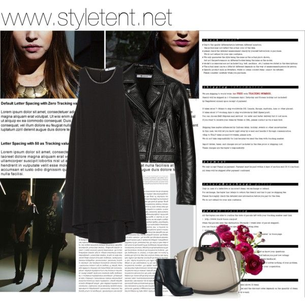"""black n leather"" by cristina-e on Polyvore www.styletent.net"