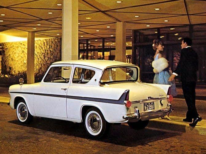 1962 Ford Anglia Super
