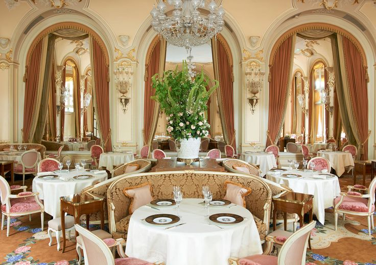 Ritz Paris Paris, France Hotels Romance Travel Tips chair function hall Dining ceremony wedding ballroom aisle wedding reception palace banquet fancy set dining table