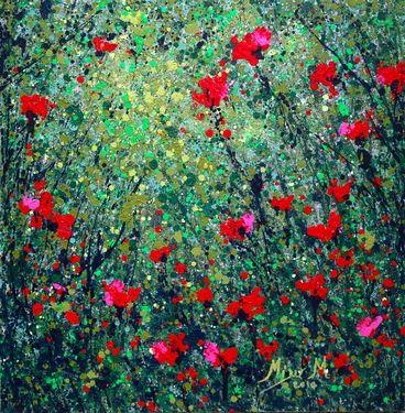 "Saatchi Online Artist Milly Martionou; Painting, ""Dreamscape No 0801"" #art"