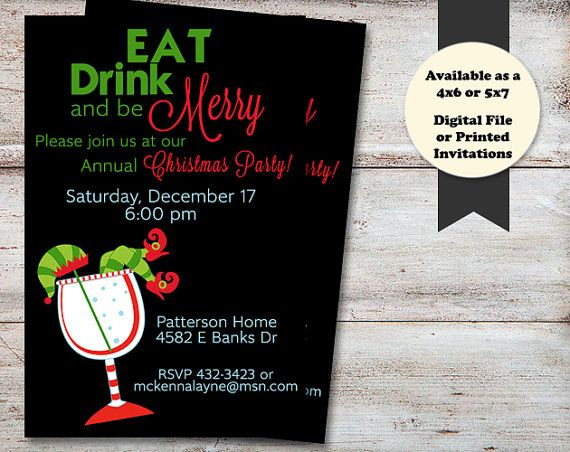 28 best Christmas Party Invitations images on Pinterest