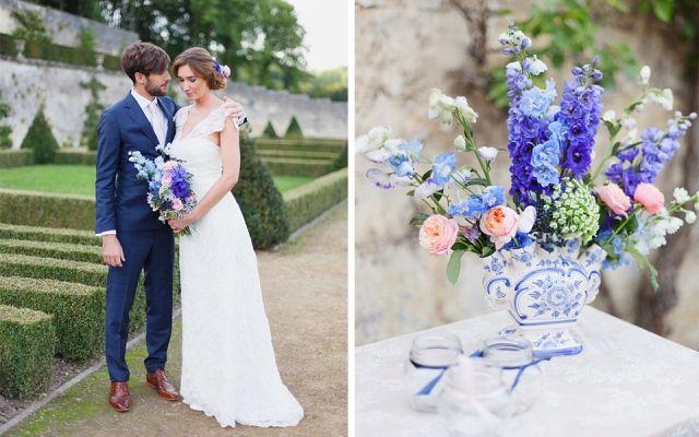 Bruiloft in Delfts blauw | ThePerfectWedding.nl