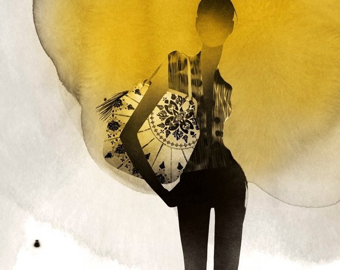watercolor  fashion #illustration by Kareem Iliya
