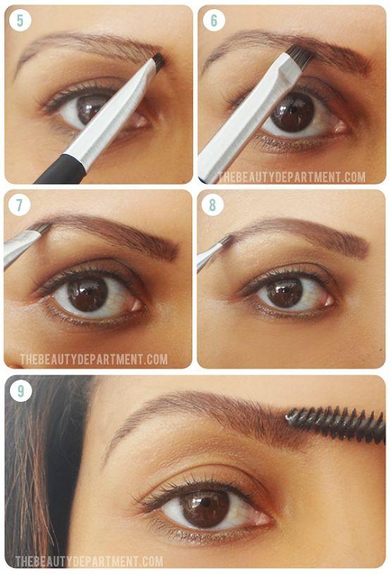 Sobrancelhas grossas: saiba como fazer usando maquiagem