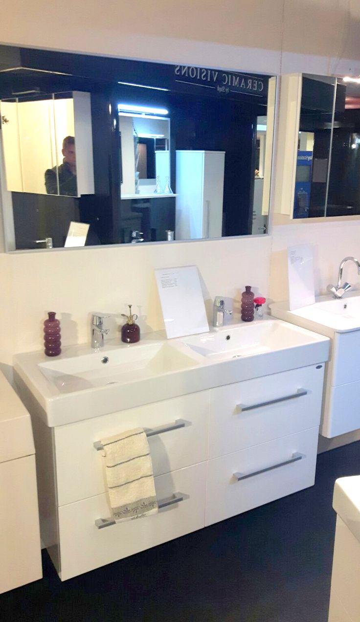 25 beste idee n over badkamer kleuren grijs op pinterest - Meubilair vormgeving van de badkamer dubbele wastafel ...