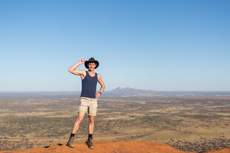 View over the Australian outback with Outback Matty - Jacaru Australia
