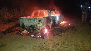 Taís Paranhos: Explosão de Caixa Eletrônico e carro incendiado em...