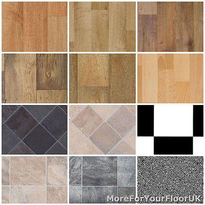 Non Slip Vinyl Flooring Kitchen, Bathroom CHEAP Lino 3m in Home, Furniture & DIY, DIY Materials, Flooring & Tiles | eBay
