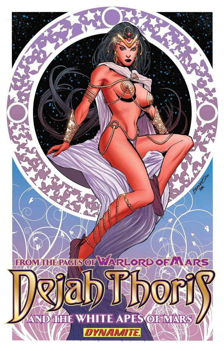 Dejah Thoris and the Apes of Mars