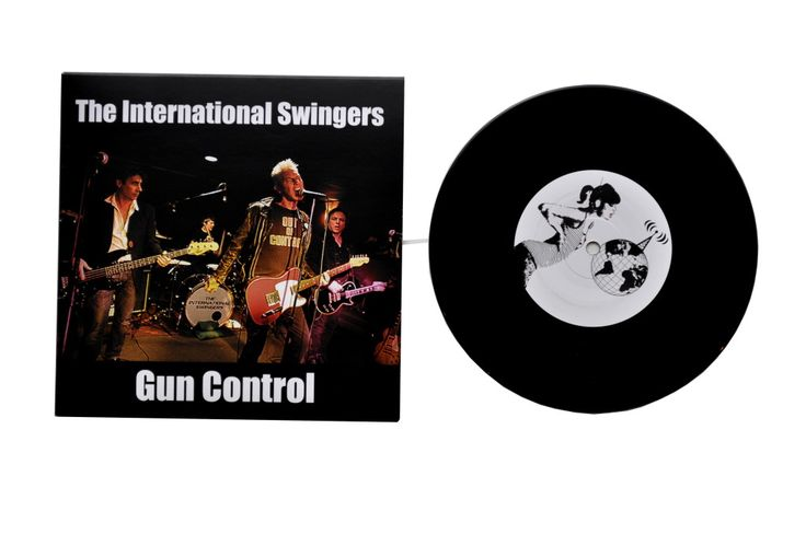 "The International Swingers  SWINGERS, ""Gun Control (Feat Glen Matlock, Clem Burke, James Stevenson & Gary Twinn), New band Feat members Of Sex Pistols Chelsea, Generation X, Blondie. [All The Cats Recordings] Manufactured by Key Production"