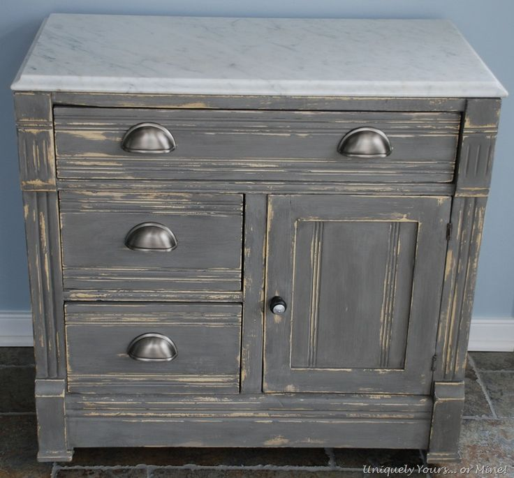 1000 images about grey painted furniture on pinterest for Dark grey furniture paint