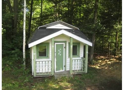 Backyard playhouse backyards and for sale on pinterest Outdoor playhouse for sale used