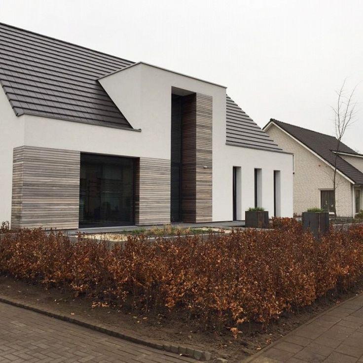 Middendeel huis bij trap en/of andere zijde voor b… – #andere #bij #enof #fass…  #Außenbereich