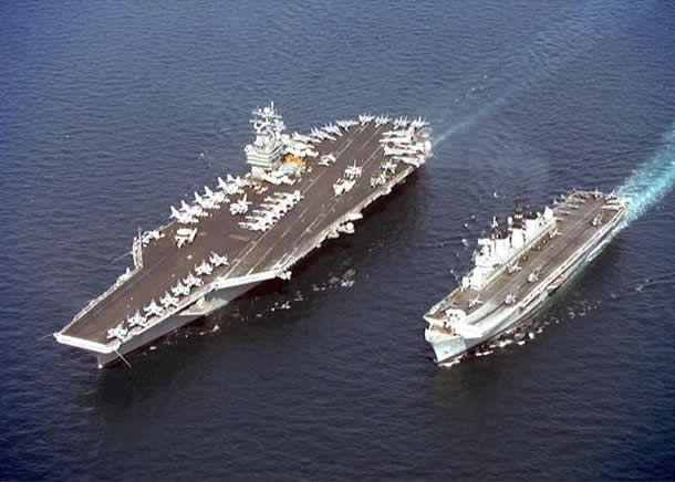 Fransa uçak gemisi Charles de Gaulle'i Akdeniz'e gönderiyor