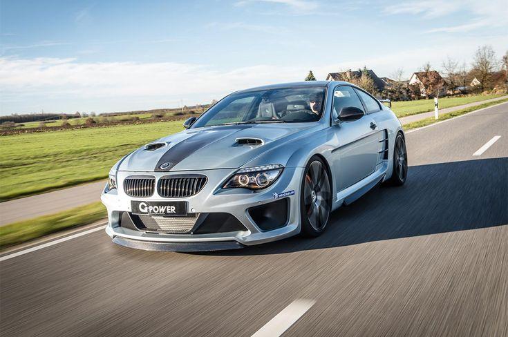 Fa intimidire una Bugatti Veyron la BMW M6 (E63) by G-Power, che sviluppa 1.001 CV di potenza e che fa largo impiego di fibra di carbonio
