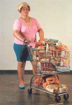 Duane Hanson (1925-1996), Supermarket Lady (1970)