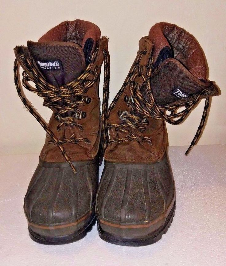 Rocky Boots Winter 7857 Men's 6m With Thinsilate Liners Cold Weather Steel Shank #Rocky