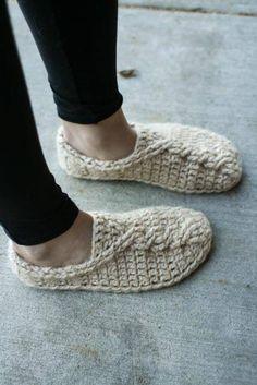 #Slippers #crochet