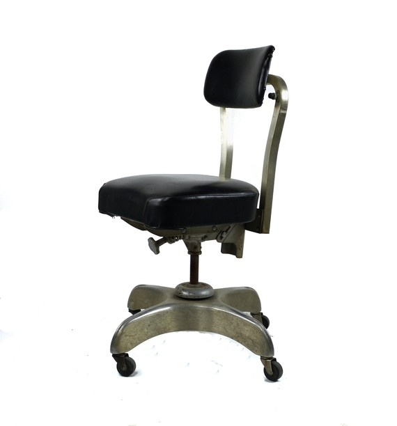 Vintage Metal Office Chair S