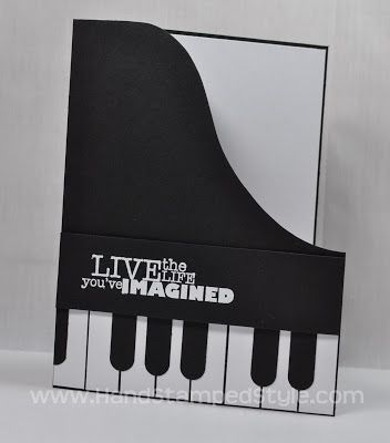 Simple Piano #Card by Erin Gonzales