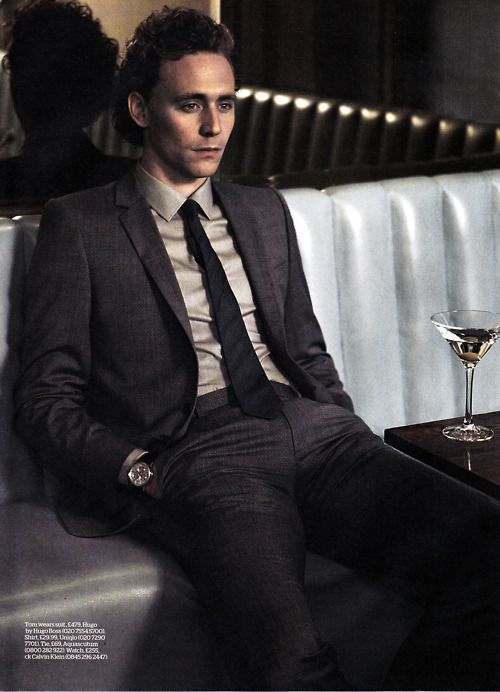 Who woulda guessed this guy would ever play an evil demi-god named Loki? Tom #Hiddleston is pretty awesome, I must say.