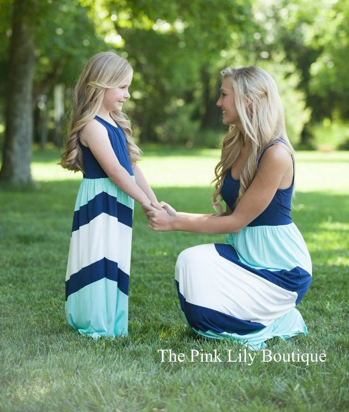 Mommy and Me Maxi Dress. How adorbale?!?