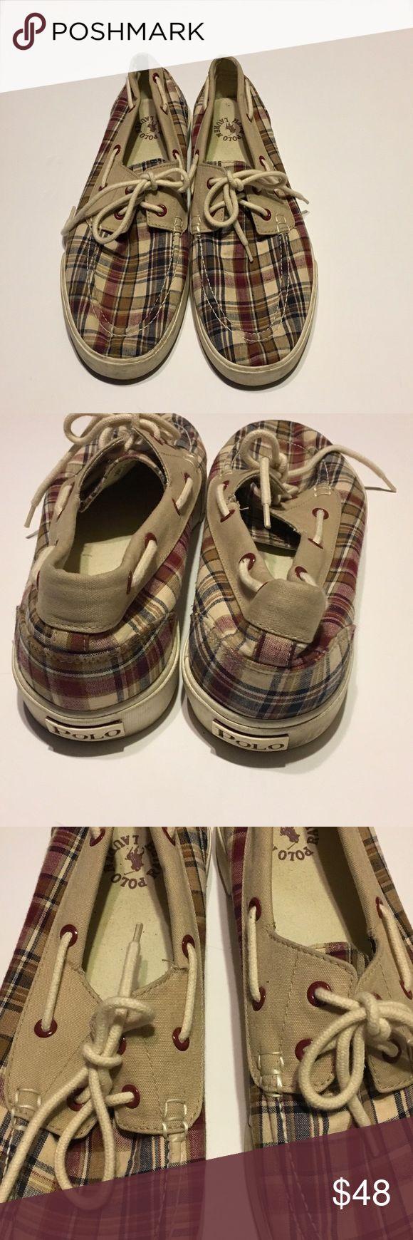 Authentic Men Polo Shoes In good condition no damage Ralph Lauren Shoes
