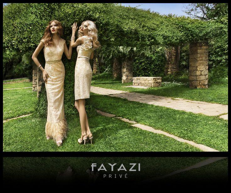 Fayazi Privé Collection 2014 #fayazifashion #eveningdress #cocktaildress #promdress