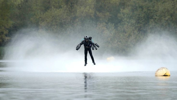 British inventor Richard Browning set a world speed record for flying a body-controlled jet engine powered suit, reaching a speed of 32.02 mph.
