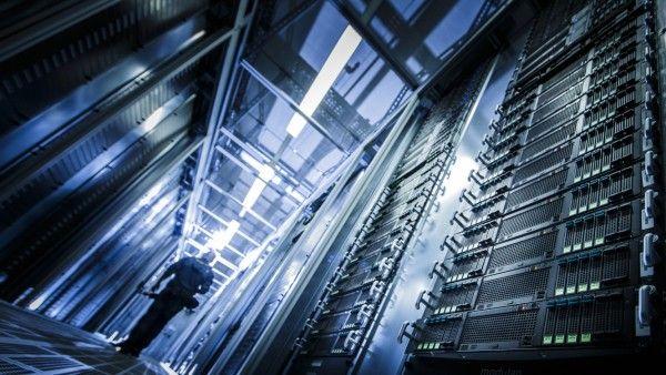 Server im Rechenzentrum der Telekom Tochter T Systems in Biere Sachsen Anhalt Biere 01 07 2014